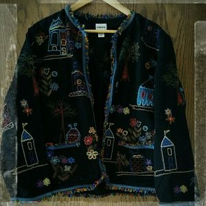 Open Front Jacket, chico's size 2